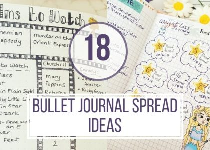 how to organize a bullet journal by winning the perfectionist mind?