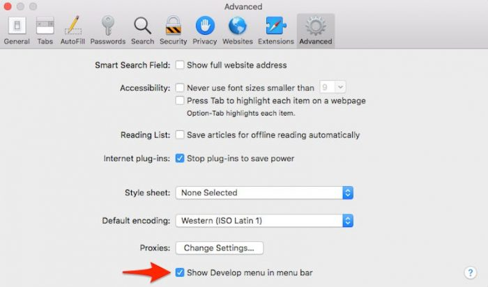 Clear Out The Cache Files in Safari