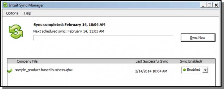 Reset the Intuit Manager