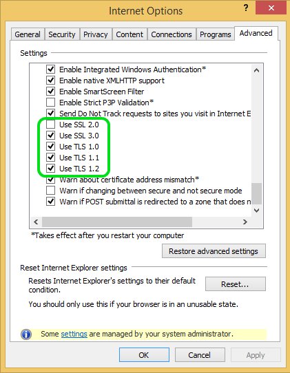 Configure & Check the System Settings